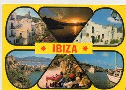 ESPAGNE : Ibiza Multivues :  édit. Fotocerator N° 2146 - Ibiza