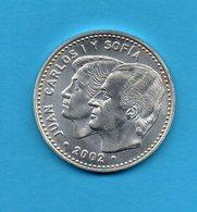 Monnaie - ESPAGNE - 12 Euro - 2002 - Juan Carlos Et Sofia - Autres