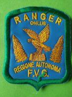 SCUDETTO DA BARACCIO Ranger Regione Autonima Friuli Venezia Giulia - Italy
