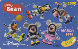Télécarte NEUVE Japon / 110-205836 - DISNEY STORE - WINNIE POOH BEAN MARCH 1999 - Japan MINT Phonecard / 3000 EX - Disney