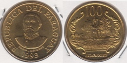 Paraguay 100 Guaranies 1993 KM#177a - Used - Paraguay