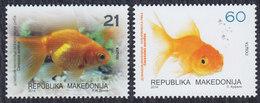 Macedonia 2014 Pets - Goldfish, MNH (**) Michel 687-688 - Mazedonien