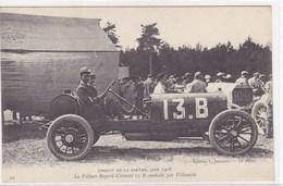 Sarthe - Circuit De La Sarthe, Juin 1906 - La Voiture Bayard-Clément 13 B Conduite Par Villemain - France