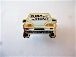 PINS LOCATION DE VOITURES EURO RENT / 33NAT - Badges