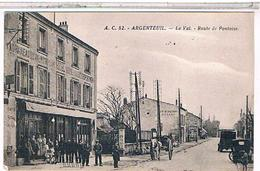 95   ARGENTEUIL  LE  VAL HOTEL ROUTE  DE  PONTOISE   TBE - Argenteuil