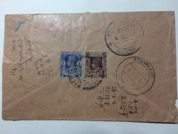 BURMA - 1940 Cover Magyidan Rangoon To Palavangudi India With Additional Koonnakudi Postmark - Birmanie (...-1947)