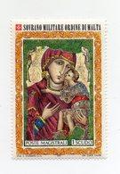 S.M.O.M. - 1972 - Natale - Nostra Signora Di Damasco - 1 Valore - Nuovo - Vedi Foto - (FDC13840) - Malte (Ordre De)
