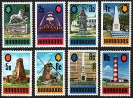 Barbados.  1970 Local Motives. SG 399-406. MNH - Barbades (1966-...)
