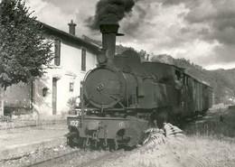 POC Train Mixte En Gare De St-Chamant 650.10 – Ed BVA - France