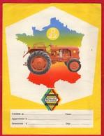 """-- PROTEGE CAHIER - RENAULT Motoculture Service - TRACTEUR """"D 22"""" - Farm"""