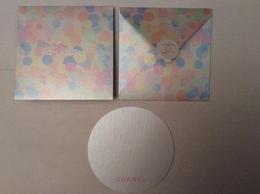 Carte Chance De CHANEL 11cmx11 - Cartes Parfumées