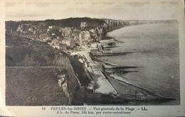 Carte Postale - Veules-les-Roses - 19 Vue Générale De La Plage - LL - Veules Les Roses