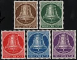 ~~~  Allemagne Berlin 1953 - Cloche De La Liberte - Mi. 101/105 * Neuf MH ~~~ - [5] Berlino