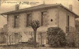 N°1608 RRR AL SAINT MACAIRE AU PETIT LUXEMBOURG R THIREZ PATISSIER CUISINIER - France