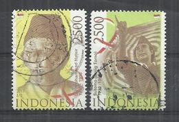 INDONESIA 211 - FAMOUS PEOPLE - CPL. SET - POSTALLY USED OBLITERE GESTEMPELT USADO - Indonésie