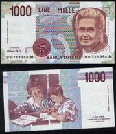 Italy P 114 C - 1000 1.000 Lire 3.10.1990 - UNC - [ 2] 1946-… : République