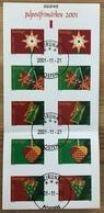 Suède Carnet Oblitéré 2001 - Suède