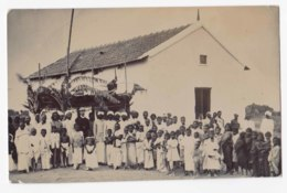AK72 School Or Orphanage, Possibly In South Africa - RPPC, 1907 - South Africa