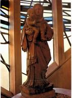 CPM* N°1028 - GRISY SUISNES - EGLISE NOTRE DAME DES ROSES - STATUE DE L' AUTEL DE LA VIERGE - BOIS SCULPTE DU XVIIIe - Autres Communes