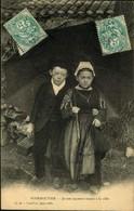 N°1619 RRR GG   NOIRMOUTIER JEUNES PAYSANS VENANT A LA VILLE - Noirmoutier