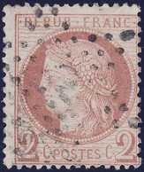 N°51 Oblitéré étoile évidée, Pas Courant Sur Ce Timbre, TB - 1871-1875 Cérès
