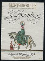 Rare // Etiquette De Vin // Chevaux // Mont-sur-Rolle, La Montoise - Chevaux