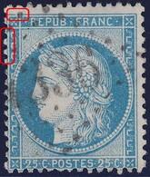 N°60A Position 35D3, Pas Facile à Trouver Comme Position, TB - 1871-1875 Cérès