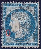 N°60A Position 47D3, Position Difficile à Trouver, Rare, TB - 1871-1875 Cérès