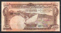 616-Yémen Billet De 250 Fils 1965 Sig.2 - Yémen
