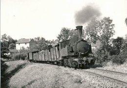 POC Train Sortant De Chamboulive 653.9 - Ed BVA - France