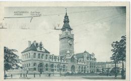 Antwerpen - Anvers - Zuid Statie - Gare Du Sud - Phototypie A. Dohmen - 1934 - Antwerpen