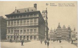 Antwerpen - Anvers - Hôtel De Ville Et Grand'Place - Stadhuis En Groote Marktplaats - Ern. Thill Série 25 No 21 - 1928 - Antwerpen
