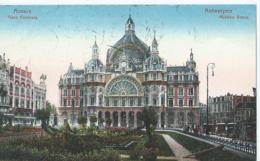 Antwerpen - Anvers - Gare Centrale - Midden Statie - No 26 Edit. J.-B. Verhoeven - Antwerpen