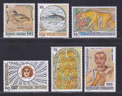 TUNISIE N°  816 à 821 ** MNH Neufs Sans Charnière, TB (D8228) Mosaîques Tunisiennes - 1976 - Tunisie (1956-...)