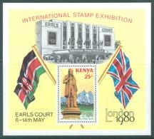 KENYA -  MNH/*** - 1980 - SIR ROWLAND HILL STAMP EXHIBITION  - LONDON 1980- Yv  BLOC 13  -  Lot 18892 - Kenia (1963-...)