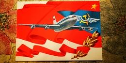 Rare AEROFLOT EDITION - Tu  PASSENGER PLANE. Old USSR Postcard - 1946-....: Moderne