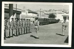Inspection Du Général De Gendarmerie Au Quartier De La Prévôté Française Armée D'Afrique 1963 - Photos