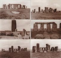 AP30 Souvenir Folder With 6 Photos Of Stonehenge - Places