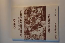 Comice Du Canton De Coulanges-sur-Yonne Et Etais La Sauvin (1986) - Books, Magazines, Comics