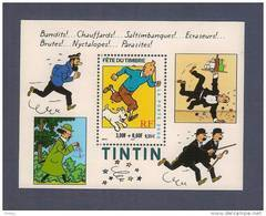 France, Bloc Feuillet N° 28, BF 28, BF28, Bloc Neuf **, 3304, TTB, Tintin, Milou, Fête Du Timbre - Blocs & Feuillets