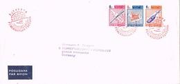 31228. Carta First Flight LH 293, DJAKARTA (Indonesia) 1987. Aereo To Frankfurt , Germany - Indonésie