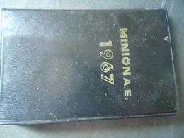 GREECE ATZENDA ATZENTA USED MINION 1967 - Calendriers