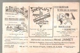 Buvard REXIM Et Le Mouilleur HERMETOS Deux Merveilleux Liquides - Papeterie
