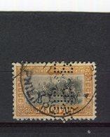 BULGARIE - Y&T N° 87° - Le Tsar Et Les Princes - Perfin - Perforé - 1909-45 Kingdom