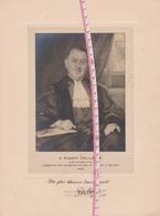 Liège 1929 Grand Portrait De Robert Collette Juge Consulaire  Négociant En Bois - Personnes Identifiées