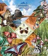 SOLOMON ISLANDS 2013 SHEET BUTTERFLIES SCHMETTERLINGEN FARFALLE BORBOLETAS PAPILLONS MARIPOSAS Slm13411b - Salomon (Iles 1978-...)
