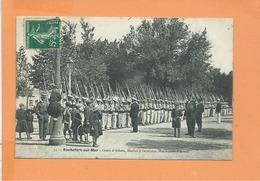 CPA - ROCHEFORT SUR MER - Cours D'Ablois , Marins à L'exercice , Maniement D'Armes - Rochefort