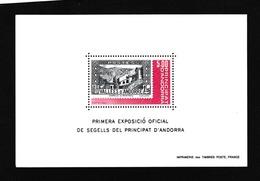ANDORRE FRANCAIS 1982:   Bloc-feuillet à 5 Fr, Neuf ** - Blocks & Sheetlets