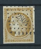 Emission De Bordeaux N°1 Bistre-jaune TB  Côte:350 € (Spink/Maury) - 1849-1850 Cérès