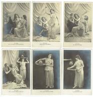 CPA 20 - Lot De 10 Cartes Théatre Salomé, Hérode, Jean Baptiste, Druide - 1905 - Arts